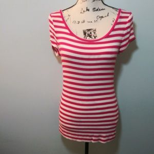 The Limited Striped Tunic Tee